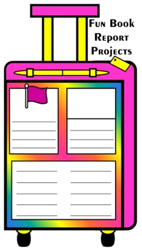 Book Report Poster Ideas Synonym